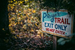 prayer trail-pwm campus